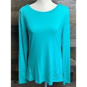 GAP FIT Aqua Tropic Breathe LS Tee Top Medium